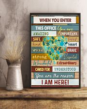Social Worker I am here 11x17 Poster lifestyle-poster-3