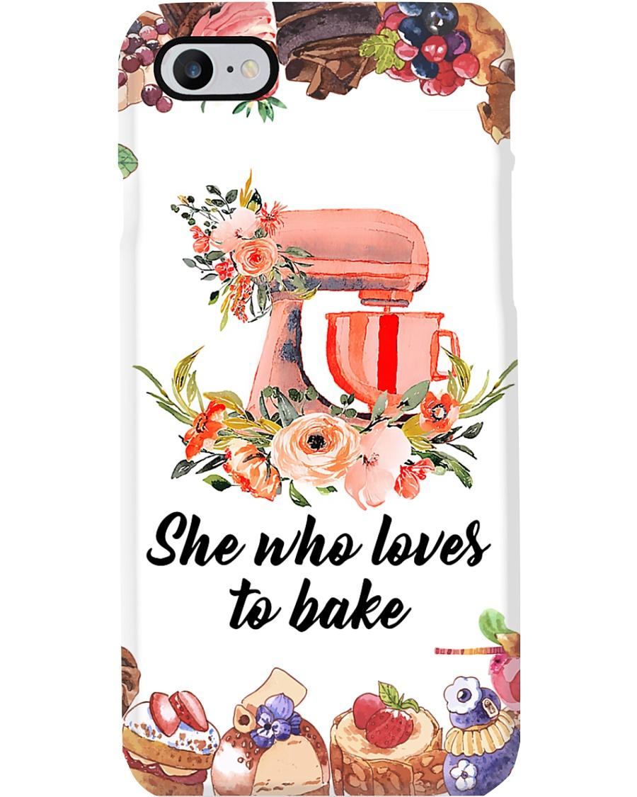 Baker She Who Loves To Bake Phone Case
