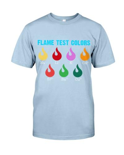 Chemist Flame test colors