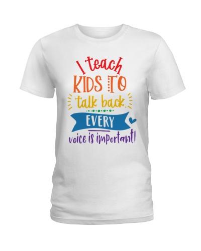 Teach Kids Talk Back SLP