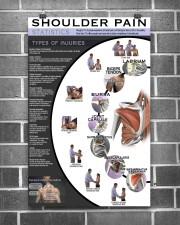 Massage Therapist Shoulder Pain 11x17 Poster aos-poster-portrait-11x17-lifestyle-18
