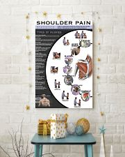 Massage Therapist Shoulder Pain 11x17 Poster lifestyle-holiday-poster-3