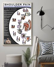 Massage Therapist Shoulder Pain 11x17 Poster lifestyle-poster-1