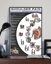 Massage Therapist Shoulder Pain 11x17 Poster lifestyle-poster-2