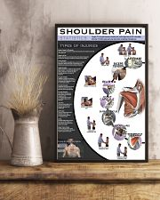 Massage Therapist Shoulder Pain 11x17 Poster lifestyle-poster-3
