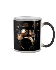 Drummer Shiny Drum Set  Color Changing Mug thumbnail