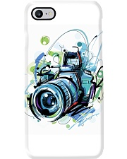 Blue Art Camera Photographer Phone Case i-phone-7-case