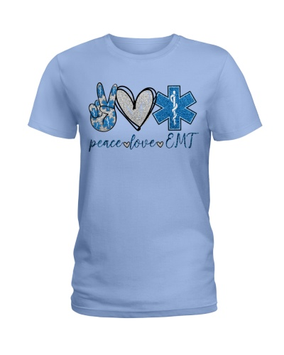 Paramedic Peace Love EMT