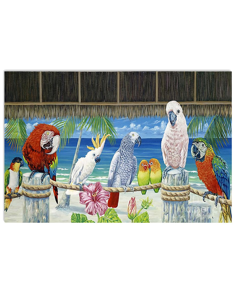 Parrot Paradise Poster  24x16 Poster