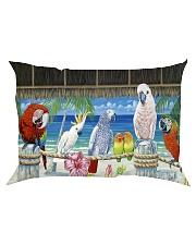 Parrot Paradise Poster  Rectangular Pillowcase thumbnail