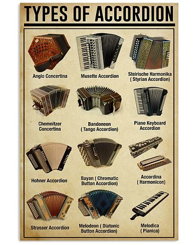 Accordionist Types of Accordion