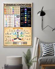 Yoga 7 Chakras Knowledge 11x17 Poster lifestyle-poster-1
