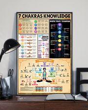 Yoga 7 Chakras Knowledge 11x17 Poster lifestyle-poster-2
