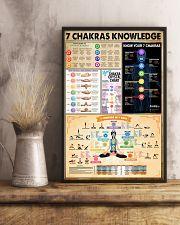Yoga 7 Chakras Knowledge 11x17 Poster lifestyle-poster-3
