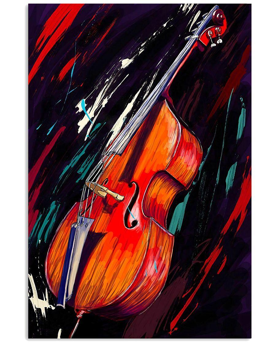 Contrabass Art 11x17 Poster