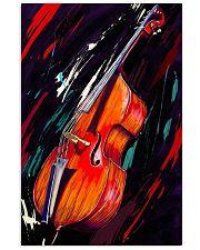Contrabass Art 11x17 Poster front