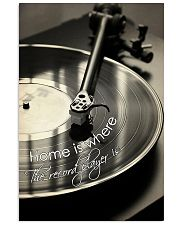 DJ Home is where the record player is 11x17 Poster front