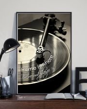 DJ Home is where the record player is 11x17 Poster lifestyle-poster-2