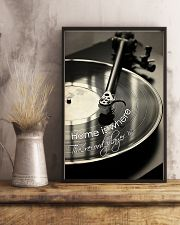 DJ Home is where the record player is 11x17 Poster lifestyle-poster-3