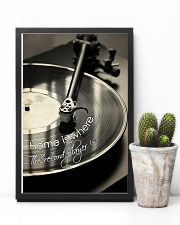 DJ Home is where the record player is 11x17 Poster lifestyle-poster-8