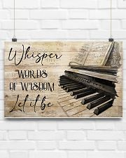 Piano Words Of Wisdom 17x11 Poster poster-landscape-17x11-lifestyle-17