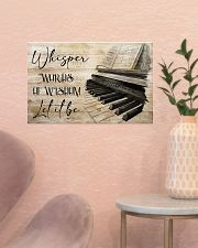 Piano Words Of Wisdom 17x11 Poster poster-landscape-17x11-lifestyle-22