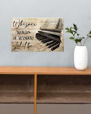 Piano Words Of Wisdom 17x11 Poster poster-landscape-17x11-lifestyle-24