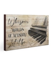 Piano Words Of Wisdom 30x20 Gallery Wrapped Canvas Prints thumbnail