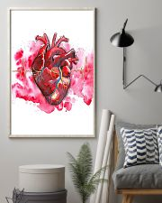 Art Heart Heartbeat Cardiologist  11x17 Poster lifestyle-poster-1