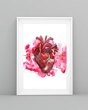 Art Heart Heartbeat Cardiologist  11x17 Poster lifestyle-poster-5