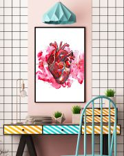 Art Heart Heartbeat Cardiologist  11x17 Poster lifestyle-poster-6