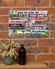 Librarian When You Enter This Library 17x11 Poster poster-landscape-17x11-lifestyle-23