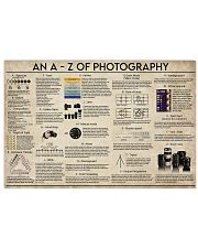 An A-Z Photography 17x11 Poster front