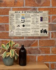 An A-Z Photography 17x11 Poster poster-landscape-17x11-lifestyle-23