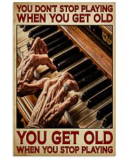 Pianist You Get Old 11x17 Poster front