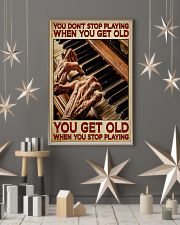 Pianist You Get Old 11x17 Poster lifestyle-holiday-poster-1