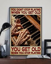 Pianist You Get Old 11x17 Poster lifestyle-poster-2