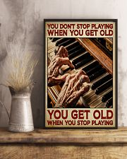 Pianist You Get Old 11x17 Poster lifestyle-poster-3
