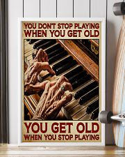 Pianist You Get Old 11x17 Poster lifestyle-poster-4