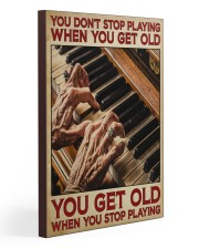 Pianist You Get Old 20x30 Gallery Wrapped Canvas Prints thumbnail