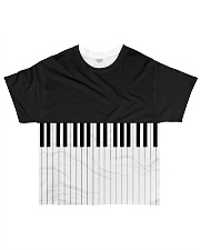 Pianist All over Keys All-over T-Shirt front