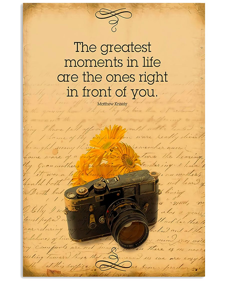 Photographer The Greatest Moments 11x17 Poster