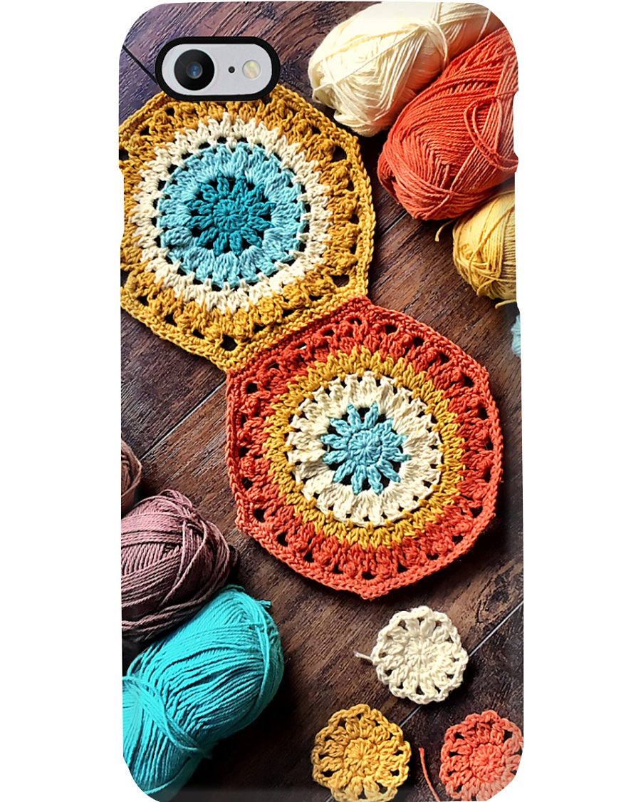 Crochet And Knitting Wood Phone Case