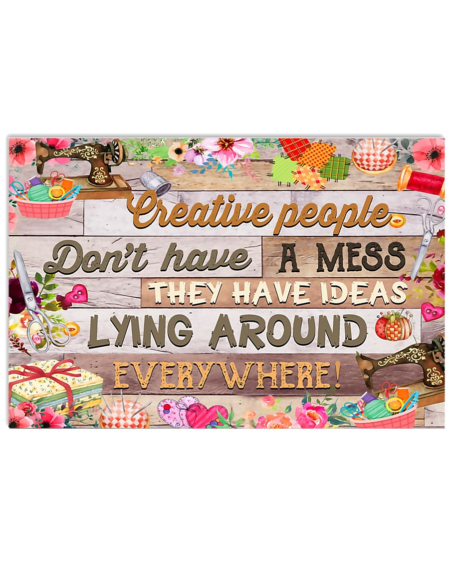 Creative Sewing 17x11 Poster