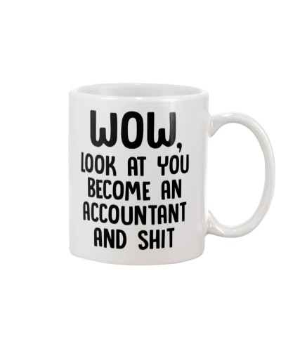 Look at you become an Accountant