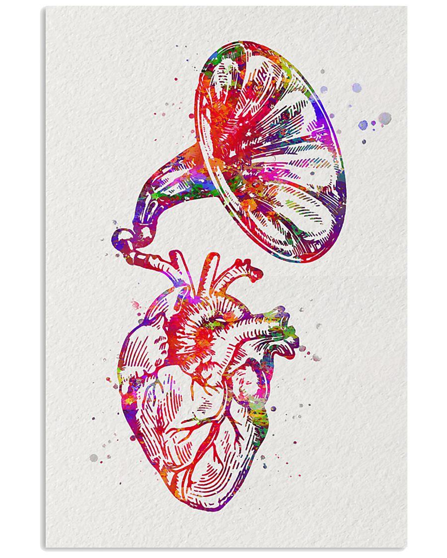 Heart Speaker Cardiology 11x17 Poster