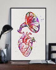 Heart Speaker Cardiology 11x17 Poster lifestyle-poster-2