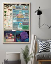 Surgical Tech Anesthesiologist Knowledge 11x17 Poster lifestyle-poster-1