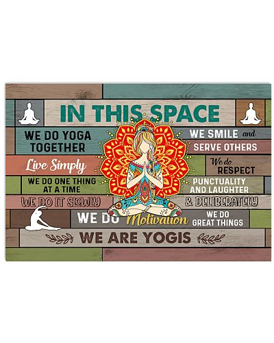 Yoga In This Space