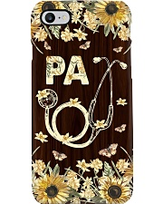 Physician Assistant Wood Flowery Phone Case i-phone-7-case